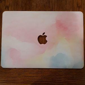 Watercolor Macbook Laptop Case